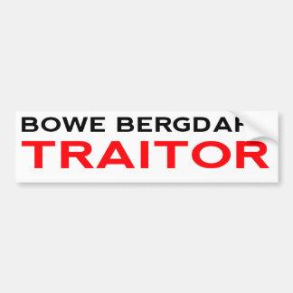 Bergdahl Traitor Bumper Sticker
