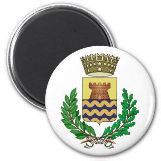 Bergeggi Stemma, Italy 2 Inch Round Magnet