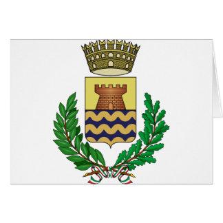Bergeggi Stemma, Italy Greeting Card