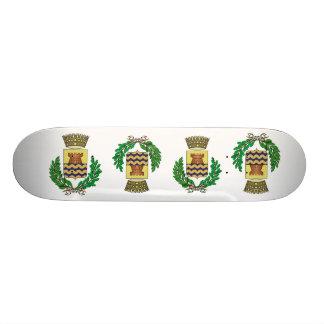 Bergeggi Stemma, Italy Skate Board