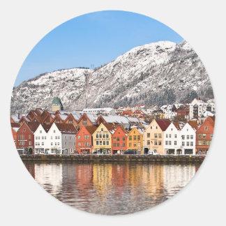 Bergen Classic Round Sticker