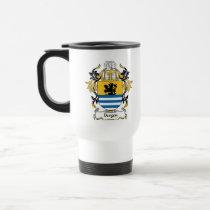 Bergen Family Crest Mug