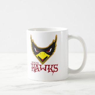 Bergen Hawks la taza de café