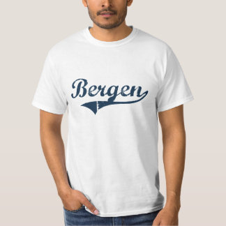 Bergen New York Classic Design T-Shirt