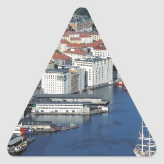 Bergen, Noruega Pegatina De Trianguladas