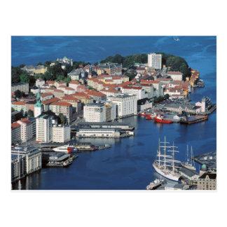 Bergen, Norway Postcard