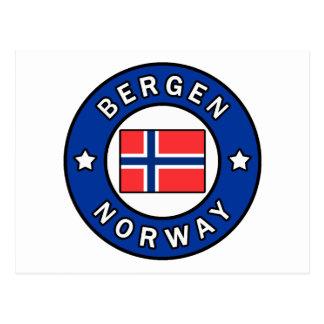 Bergen Norway Postcard