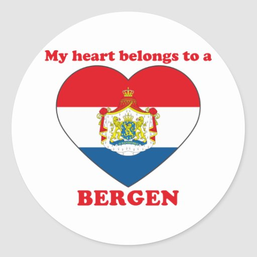 Bergen Pegatinas