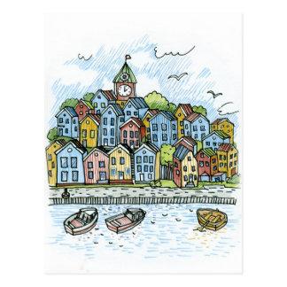 Bergen Postcard