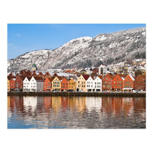 Bergen Tarjeta Postal