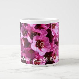Bergenia Blossom; Customizable Large Coffee Mug