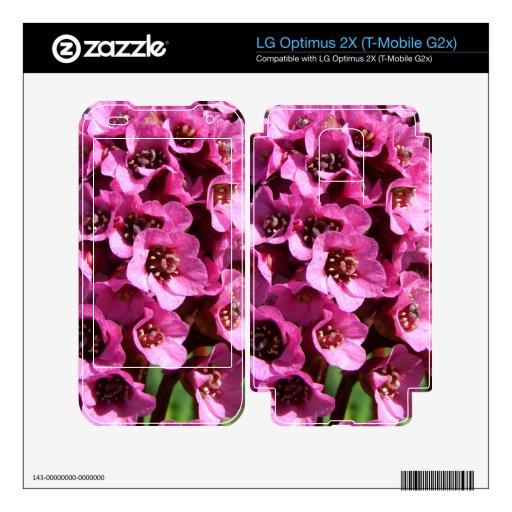 Bergenia Blossom LG Optimus 2X Decal