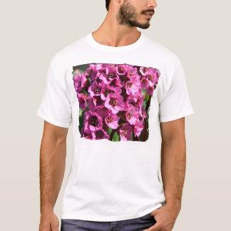 Bergenia Blossom; No Text T-Shirt