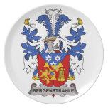 Bergenstrahle Family Crest Dinner Plate