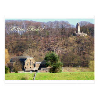 Berger-Denkmal Wasserkraftwerk Witten Postcard