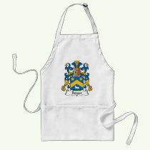 Berger Family Crest Apron