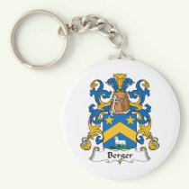 Berger Family Crest Keychain