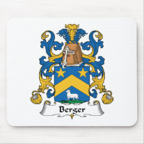 Berger Family Crest Mousepad