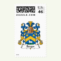 Berger Family Crest Stamps