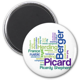 Berger Picard 2 Inch Round Magnet