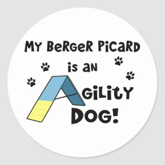 Berger Picard Agility Dog Stickers
