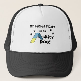 Berger Picard Agility Dog Trucker Hat