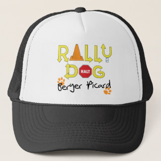 Berger Picard Rally Dog Trucker Hat