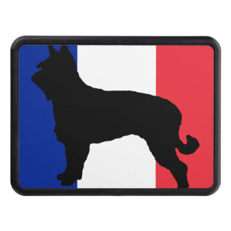 berger picard silo France flag Hitch Cover
