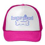 Berger rosado y azul Picard Gorras De Camionero