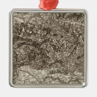 Bergerac Metal Ornament