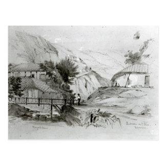 Berger's House, Valparaiso, 1834 Postcard