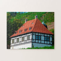 Berghaus Radebeul Germany. Jigsaw Puzzle