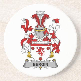 Bergin Family Crest Beverage Coasters
