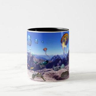 Bergrochen, Mountain Rays Taza