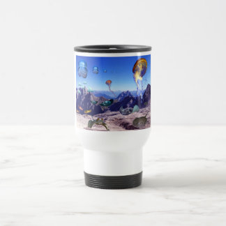 Bergrochen, Mountain Rays Tazas De Café