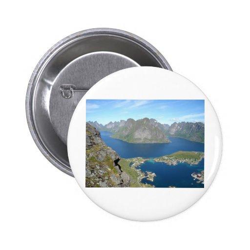 Bergspitzen Button