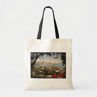 Berigo, San Remo, Riviera vintage Photochrom Bag