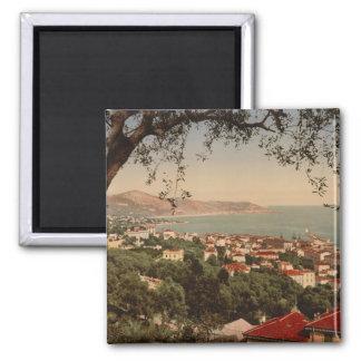 Berigo, Sanremo, Liguria, Italy 2 Inch Square Magnet
