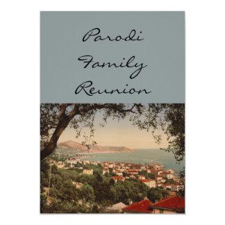 Berigo, Sanremo, Liguria, Italy 5x7 Paper Invitation Card