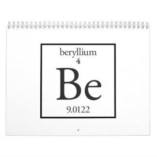 Berilio Calendario