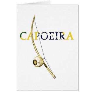 Berimbau Capoeira Card