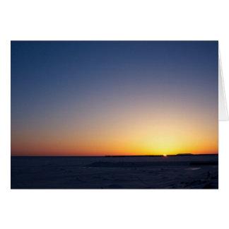 Bering Sea  Greeting Card