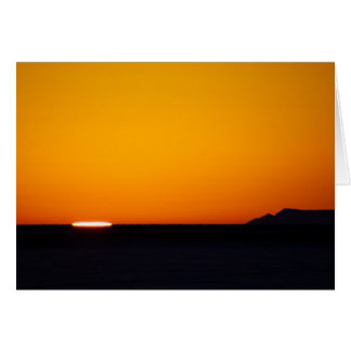 Bering Sea Sunset Card