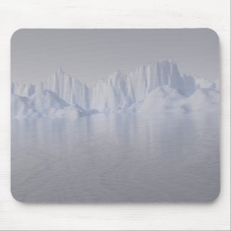 bering strait: the ice barrier mouse pad