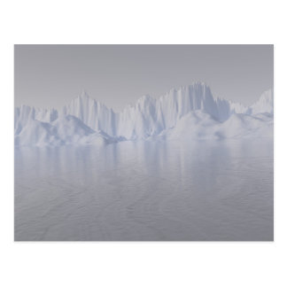 bering strait: the ice barrier postcard