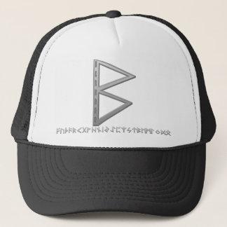 Berkano Rune grey Trucker Hat