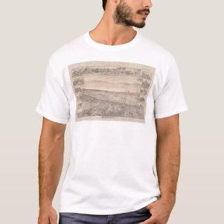 Berkeley, CA. Panoramic Map 1891 (0099A) -Restored T-Shirt