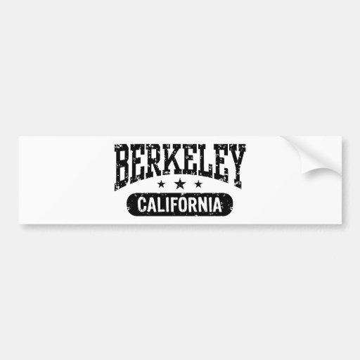Berkeley California Car Bumper Sticker