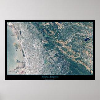 Berkeley, California satellite poster