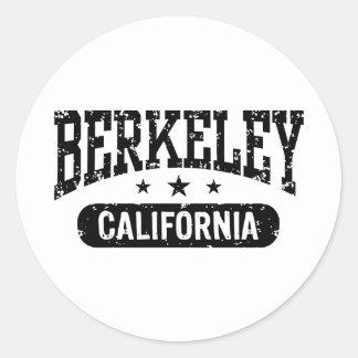 Berkeley California Round Sticker